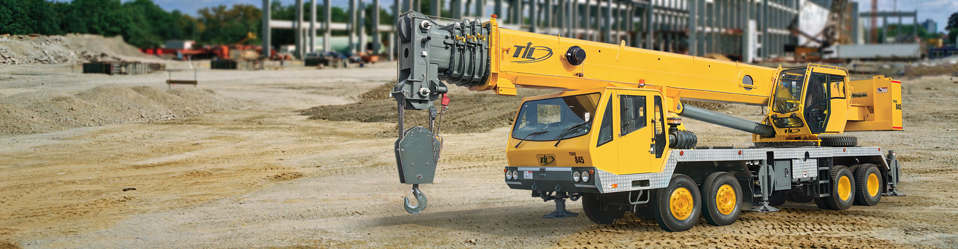 Truck mounted cranes India